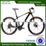 "bicicletas importadas de china carbon mountain bike 27.5""wheelset size black blue color"