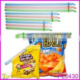 Magic Plastic Food Bag Seal Stick Kitchen Fresh Storage Lock Zip Clip
