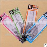Plastic Ruler Set / school and office ruler set / 20cm ruler set