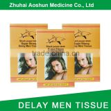 Delay Wet Tissue for man Sex Delay Wipes