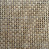 rattan color textilene fabric in PVC coated mesh fabric cloth for outdoor furniture or placemat