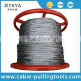 24mm Anti-twisting Breaking Load 360KN Braided Steel Wire Rope Overhead Line Stringing Rope