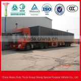 2/3 axle bicycle cargo transport semi trailer