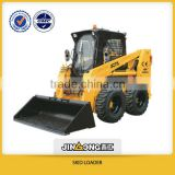 Skid steer loader JC75 with CE and EPA and GOST Series Skid steer loader with many attachments