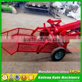 Mini groundnut peanut harvester machine for 15HP tractor