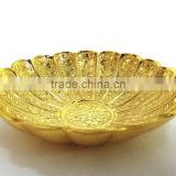 Inquiry about Wedding gift item brass gold plated bowl for return gift and home decoration