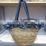 craft seagrass handmade fashion tote bag