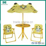 Outdoor garden table and chair for children