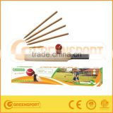 TENNIS BALL WOODEN CRICKET BAT CRICKET GAMES