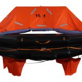 THROW OVERBOARD LIFE RAFT