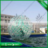 Safty logo printing PVC/TPU new outdoor high quality durable material hot-selling zorb ball for bowling