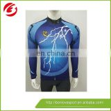 2017 Wholesale Colorful Fashionable Custom Designed Cycling Jersey