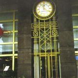 commercial building clock, movement for commercial building clock, outdoor clocks, mechanism for outdoor clocks,
