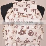 Printed Hemp Backpack BPK 0005