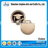metal crafts gold supplier custom make replica copy metal coins