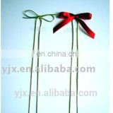 elastic cord with ribbon bow