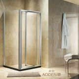 Clear Glass Square Folding Door Shower Room