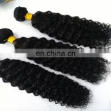 Factory wholesale price brazilian hair weave large in stock curly natural human hair extension