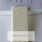 Cake Accessory Event & Party Item Type and Custom Printed Drinking Straws Product name Striped drinking straw paper