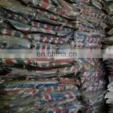 High quality and bottom price stocklots ready finished pe laminated striped Tarpaulin sheet