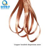 The supply is 7.6mm wide copper braided cable 3 d copper mesh