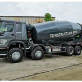 Sinotruk HOWO 371HP or 336HP 18m3 18cbm 18 cubic meter Transit Cement Mixing Concrete Mixer Truck For Sales