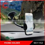 2016 Gooseneck 360 Rotation Universal Car Cell Phone Holder Windshield & Dash Mobile Mount with Strong Sticky Suction Cup