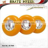 Durable super high rebound skateboard pu wheel, roller skateboard wheel in size 70/72/76mm                                                                         Quality Choice