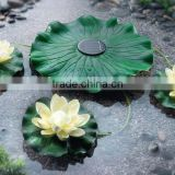Hightech Beautiful Solar Power Energy Lotus Flower LED Accent Light for Pool Pond Garden Night light
