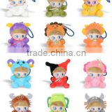 New zodiac doll cartoon style fashion power bank pendant 5200mah