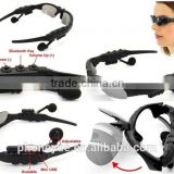 2016 newest handfree call music sport stereo wireless bluetooth headset sunglasses