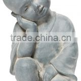 Alfresco Home Thinking Budda Statuary God Statue