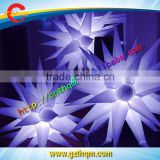 Cheap inflatable LED balloon columns or star for outdoor advertising or party decoration