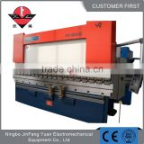 CE certificate cnc sheet bending machinery metal sheet folder machine