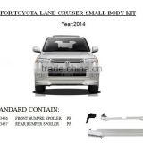 BUMPER SPOILER front bumper lip For Toyota LAND CRUISER LC200 Restyling CAR parts auto parts