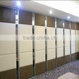 Hall interior design acoustic Sliding folding soundproof partition wall( SZ-MP807)