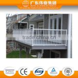new aluminum railing system for balcony