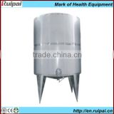 Stainless steel food grade PVC water storage tanks