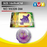 TPR soft balloon bear model wild animal plastic toy for child