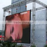 outdoor aluminium die casting cabinet P10 led video display