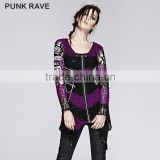 Wholesale Modern Skull Design Ladies Loose Sweater Knitting Patterns                                                                         Quality Choice