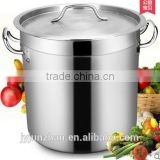 100L (50cm)stainless steel large cooking pot with 5 ply bottom and low price-- Guangdong Junzhan