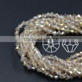 glass bicone beads crystal beads for wedding dress                                                                         Quality Choice