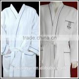 Foshan Blue Cotton Waffle Bathrobes YKY579