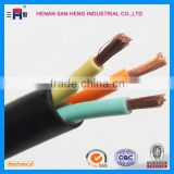 5*0.75mm muti-core heat resisting silicone rubber cable                                                                                                         Supplier's Choice