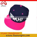 Alibaba china oem new design custom snapback hat/hip hop snapback hat and cap/flat bill snapback hats