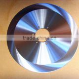 Continuous Circular Rim Stainless steel Porcelain Blade with thick center hub