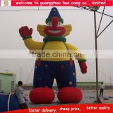 Hot sale inflatable advertising cartoon / inflatable clown model / customized inflatable cartoon clown for event