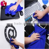 Blue Microfiber Household Wash Car Clean Wipe Cloth Cleaning Towel Super Soft
