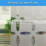 WB22 Low Shrinkage 3D Stained Window Decorative PVC Glass Film